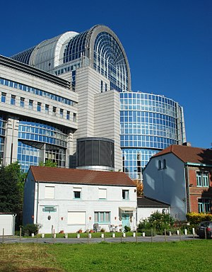 Espace Léopold - Paul-Henri Spaak building.