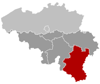 Location of Luxemburgo