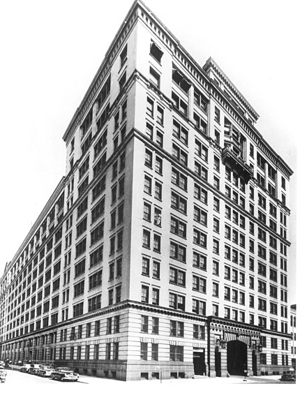 The original home of Bell Laboratories beginning in 1925, 463 West Street, New York. Bell Laboratories West Street.jpg