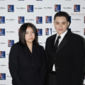 Bella Brusa and Kabir McNeely at the The Lies We Tell Premiere.png