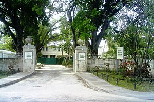 Barbados–Canada relations - Image: Bellairs Research Institute Mc Gill University