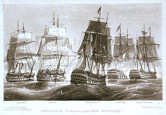 HMS Belleisle (1795) - Image: Belleisle PU4054
