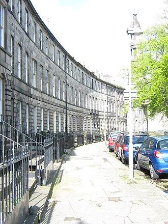 James Haldane Tait - Bellevue Crescent, Edinburgh