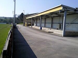 Belper Town F.C. - Reg Walker Stand