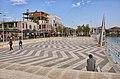Belsh, Albania 2018 11 Promenade.jpg