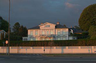 Peter von Scholten - Belvedere, von Scholten's former country house in Klampenborg, north of Copenhagen