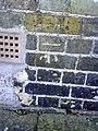 Benchmark on ^43 St John Street - geograph.org.uk - 2182709.jpg