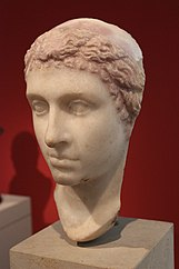 Bust of Cleopatra, in good condition