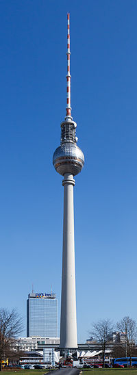 berliner fernsehturm wikip dia a enciclop dia livre. Black Bedroom Furniture Sets. Home Design Ideas