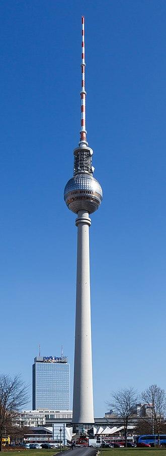 1969 in architecture - Fernsehturm Berlin