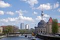 Berlin spree und bodemuseun und fernsehturm von friedrichstrasse 15.04.2011 13-35-02.JPG