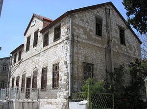 German Colony, Haifa - Old Templer house in German Colony