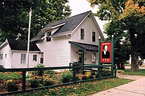 Gravenhurst, Ontario - Visitor center of Bethune Memorial House