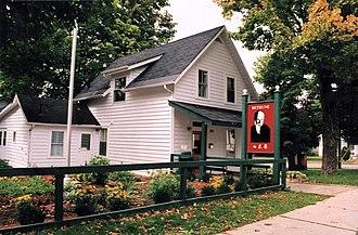 Gravenhurst, Ontario - Visitor center of Bethune Memorial House