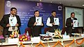 Bharatsinh Madhavsinh Solanki releasing a publication, at the National Consultation with State Ministers and Secretaries in charge of Rural Sanitation, in New Delhi. The Secretary, Drinking Water & Sanitation.jpg