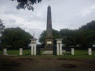 Battle of Koregaon - Image: Bhima Koregaon Victory Pillar