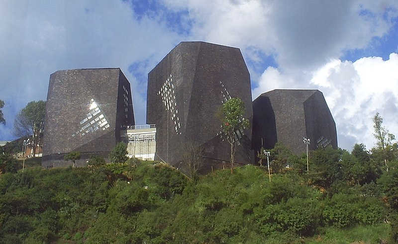 pictures of medellin, pictures of colombia, biblioteca espaan