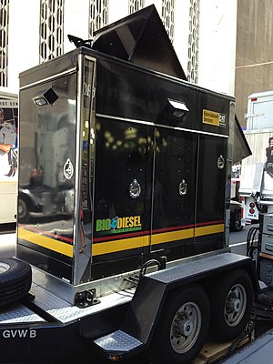 Biodiesel - Biodiesel is also used in rental generators