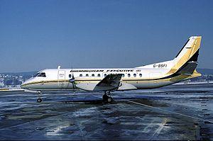 Birmingham European Airways - Saab 340