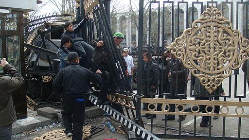Bishkek capitol revolution 2010