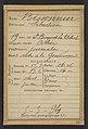 Bissonier. Sébastien. 19 ans, né à St Bonnet (Allier). Journalier. Outrage à la Gendarmerie. 5-3-94. MET DP290195.jpg