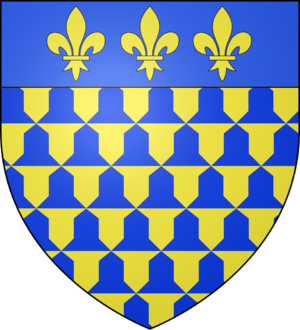 House of Flanders - Image: Blason ville fr Guines (PDC)