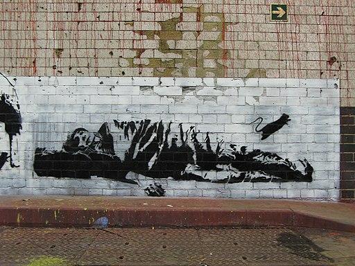 Blek le Rat - Sleeping man