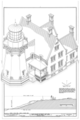 Block Island Southeast Light, Spring Street and Mohegan Trail at Mohegan Bluffs, New Shoreham, Washington County, RI HAER RI,5-NESH,1- (sheet 4 of 12).png