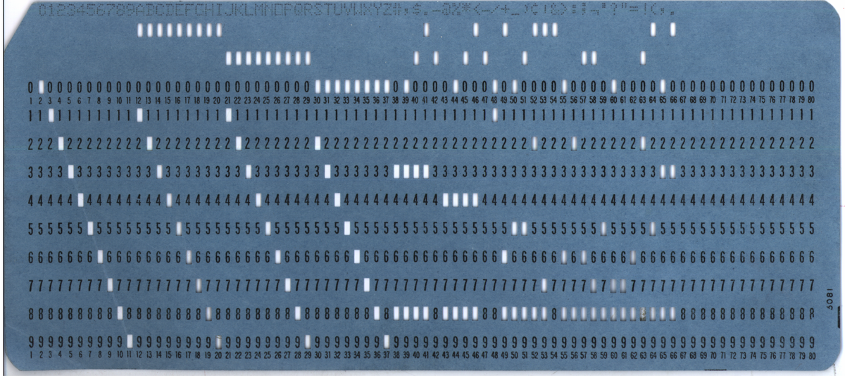 explain the term of punched cards and punched paper tape An artificially created universe  and electronics, was also a mechanic who could explain,  were exchanged at the speed of punched cards and paper tape.