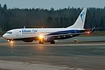Blue Air, YR-BMO, Boeing 737-883 (47630665601).jpg