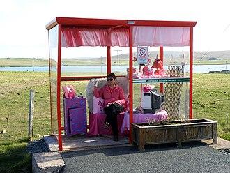 Baltasound - Bobby's Bus Shelter