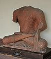 Bodhisattva Seated in European Fashion - Kushan Period - ACCN 00-A-15 - Government Museum - Mathura 2013-02-23 4877.JPG