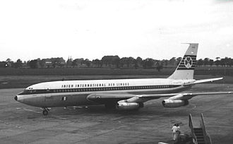 Aer Lingus - A Boeing 720 in Aer Lingus-Irish International livery in 1965