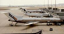 220px Boeing 727 276 VH TBG Trans Australia Melbourne 24 March 1988 Melbourne Airport