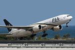 Boeing 777-240 ER PIA (Pakistan International Airways) AP-BGL (8732965110).jpg