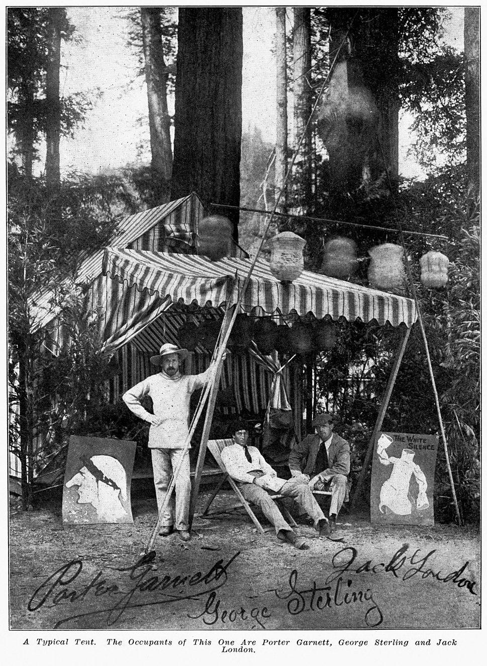 Bohemian Grove Camp - Garnett, Sterling, London