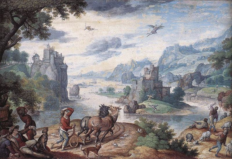 File:Bol, Hans - Landscape with the Fall of Icarus.jpg