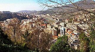 Bolzaneto neighborhood in Genoa