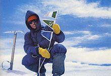Bonatti sulla vetta del Gasherbrum IV