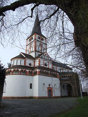 Doppelkirche Schwarzrheindorf - Image: Bonn Schwarzrheindorf Doppelkirche