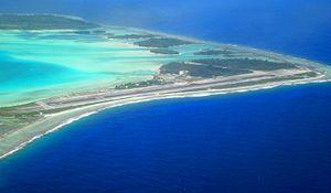 Bora Bora Airport - Image: Bora Bora Airport Aerial