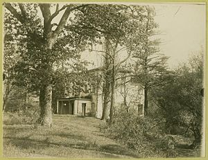 Zénaïde Bonaparte - View of Princess Zenaide's former residence, Bordentown, New Jersey