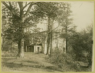 Charlotte Bonaparte - View of Princess Charlotte's former residence, Bordentown, New Jersey