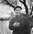 Boris Pasternak at his Peredelkino dacha 1958.jpg
