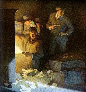 Boston Blackie - Image: Boston Blackie American Magazine 1914