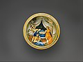 Bowl from a birth set with birth scene and Diana and Actaeon MET DP315801.jpg