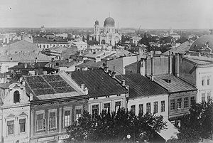 Brăila - An overview of Brăila in late 19th century or early 20th century.