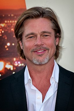 Brad Pitt 2019 by Glenn Francis