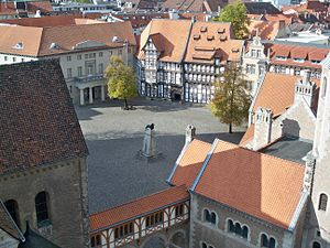 Dankwarderode Castle - Image: Braunschweig Burgplatz