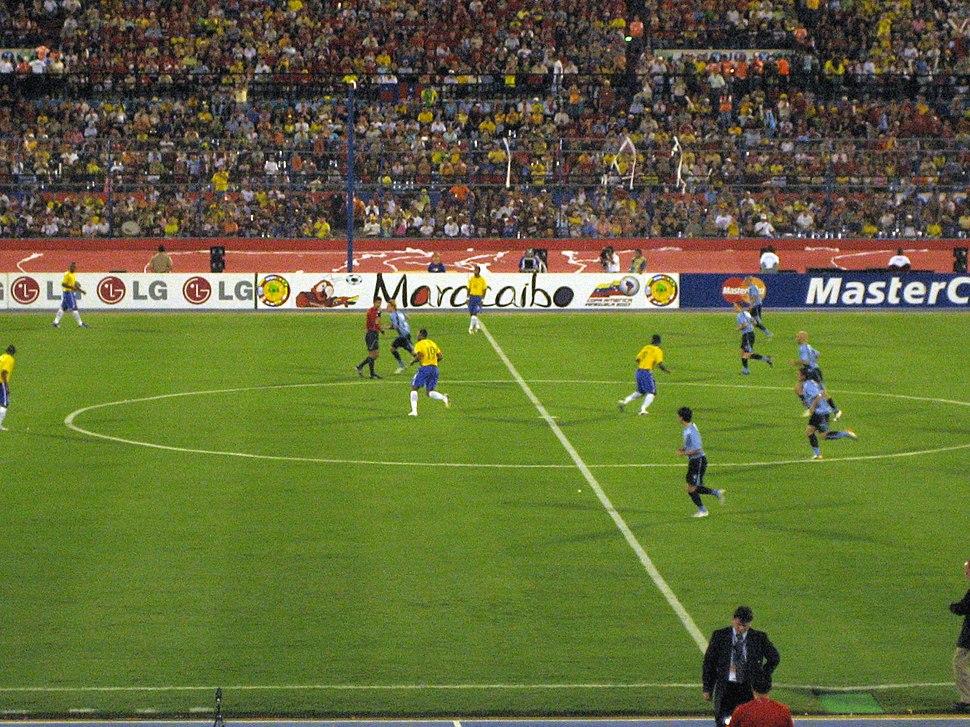 Brazil vs. Uruguay Semifinals Copa América 2007